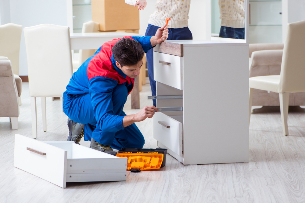 Flatpack Assembly services London - Assembly of flat pack furniture